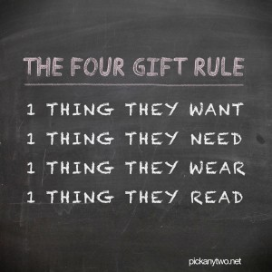 The Four Gift Rule