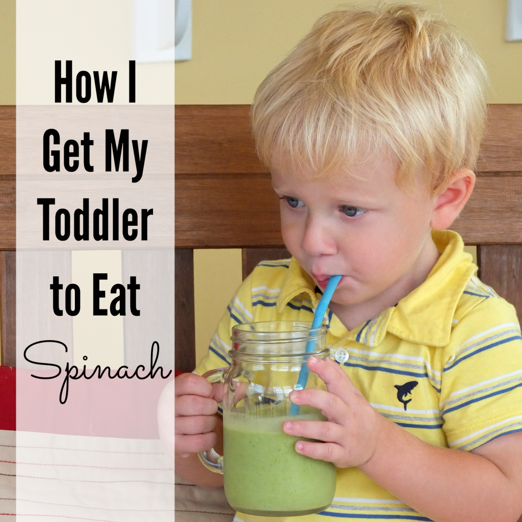 how to get your toddler to eat spinach! #kids #healthy