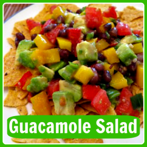 My Summer Cookout Go-To Recipe: Guacamole Salad