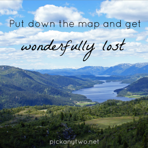 Feel Good Friday: Put Down the Map