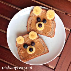 Feel Good Friday: Teddy Bear Toast