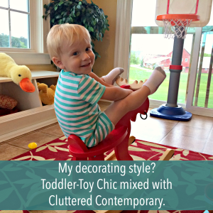 Feel Good Friday: My Interior Decorator is a Two-Year-Old