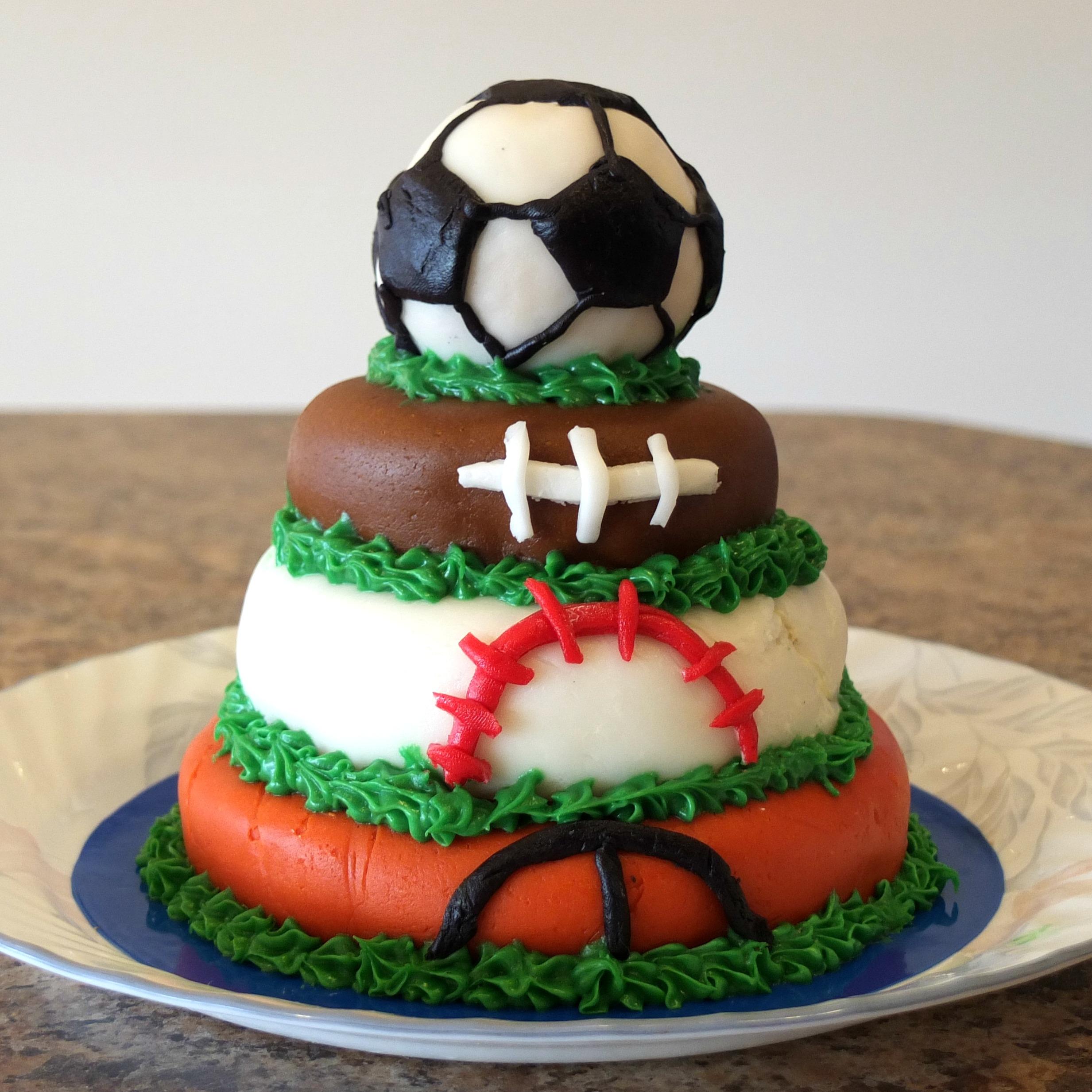 Ball Themed Birthday Cakes Ball-themed Birthday Party