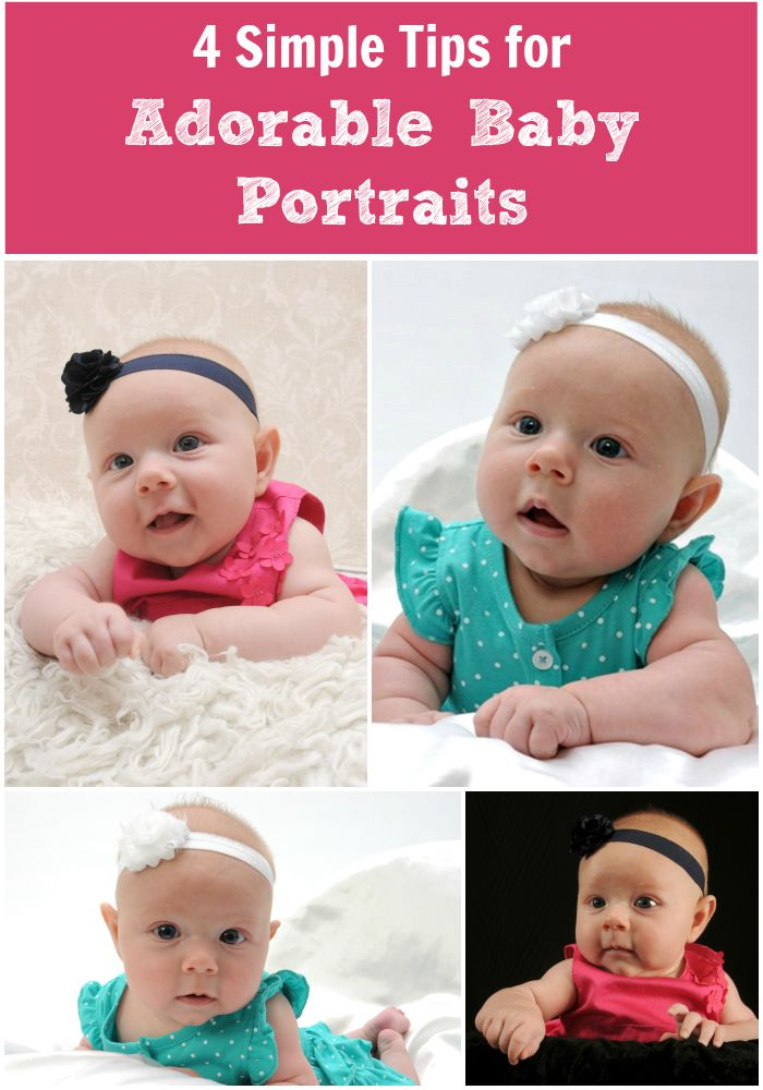 4 Simple Tips for Adorable Baby Portraits