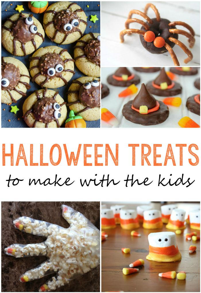 25 cute halloween treats to make with your kids pick any two