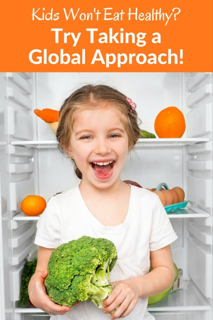 Kids Won't Eat Healthy? Try Taking a Global Approach! Get inspired with these 5 cuisines.