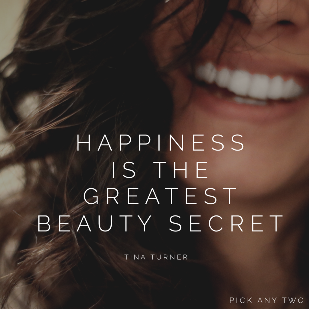 Happiness Is the Greatest Beauty Secret