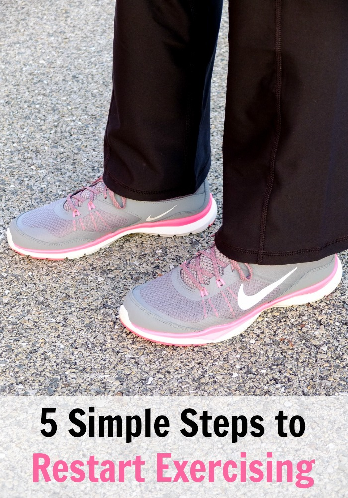 5 Simple Steps to Restart Exercising